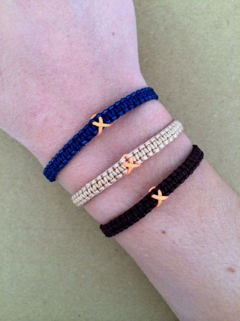 cancer gifts lupus sickel cell suicide Set of 2 awareness bracelets breast cancer awareness string friendship bracelets epilepsy