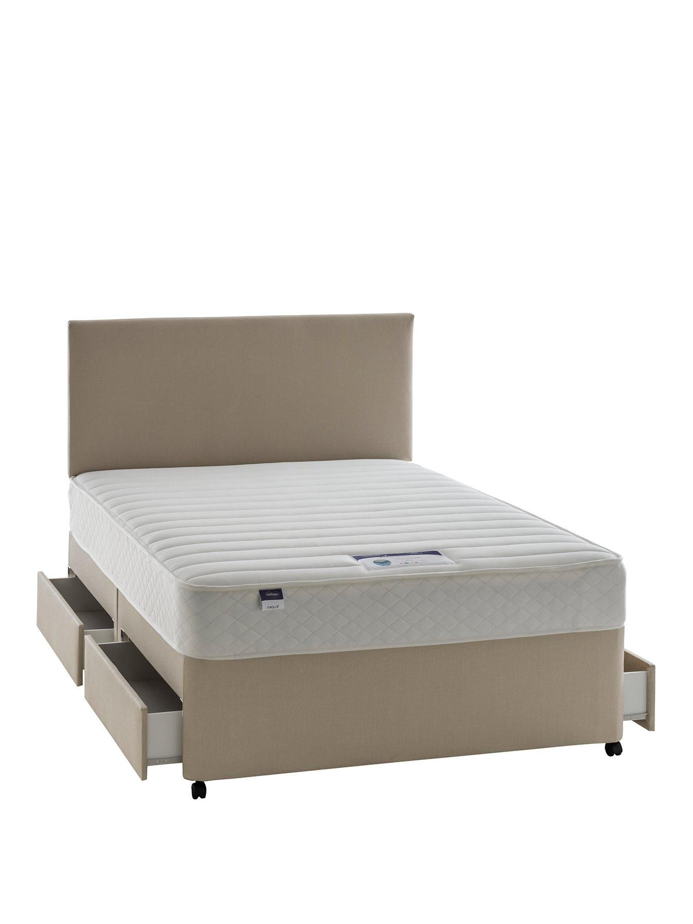 Silent Night Miracoil 3 Pillow Top Mattress Silentnight Miracoil 3 Celine Memory Divan With Optional Storage