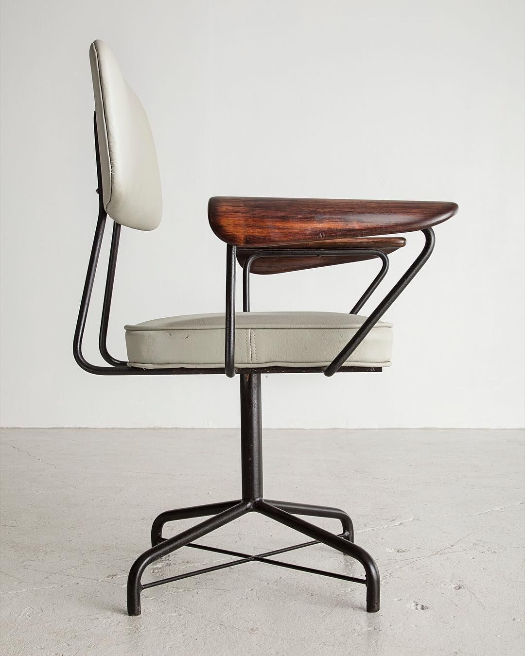 Midcentury modern · carlohauner desk chair designed for forma in the 1950s