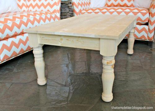 Haven Turned Leg Coffee Table Turned Leg Coffee Table Coffee Table Farmhouse Coffee Table