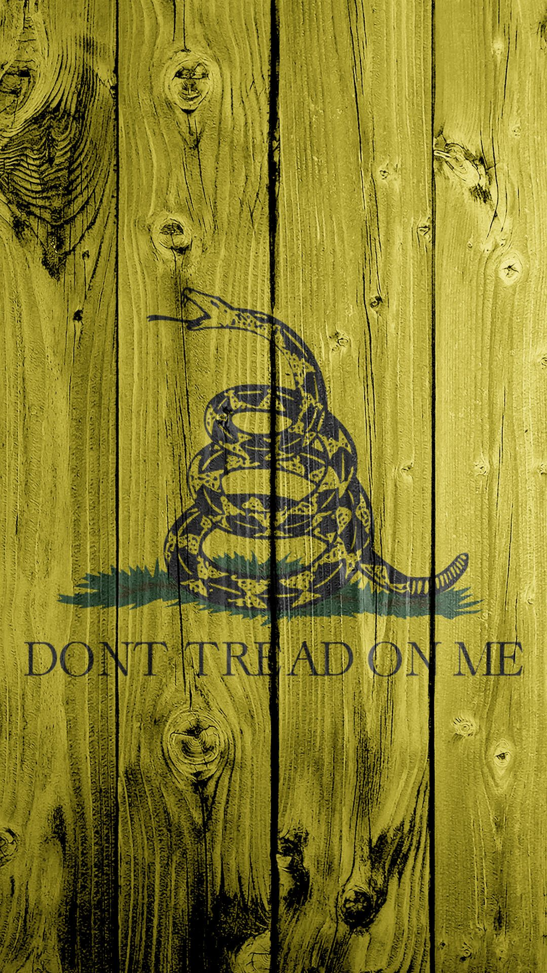 1080x1920 ... DON T TREAD ON ME 1080x1920 Flag Wallpaper by LoneStarPatriot 2182399c8c