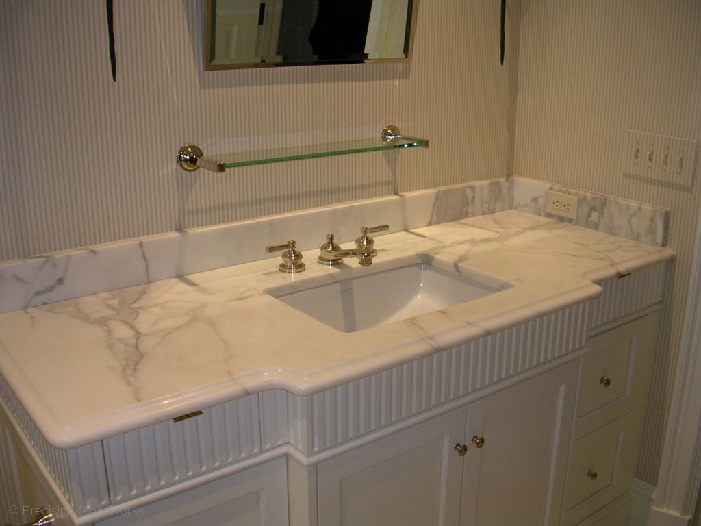 Calacatta Gold Bathroom Vanity Marble Countertops Calcutta