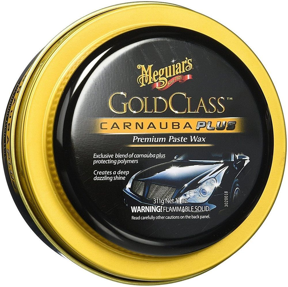 Gold Class Carnauba Plus Paste Wax Strong Longlasting