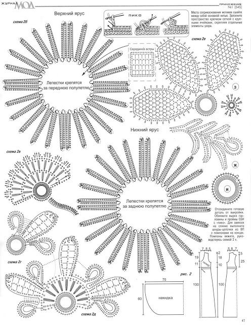 Crinochet: Irish Crochet | kvačkani vzorci / crochet pattern ...