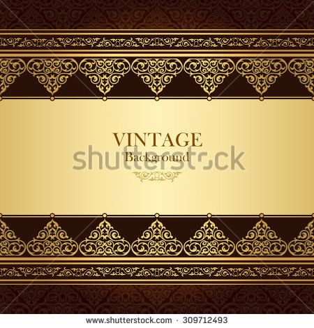 Vintage vector card in islamic style seamless lace ornament on islamicframe stock images royalty free images vectors stopboris Choice Image