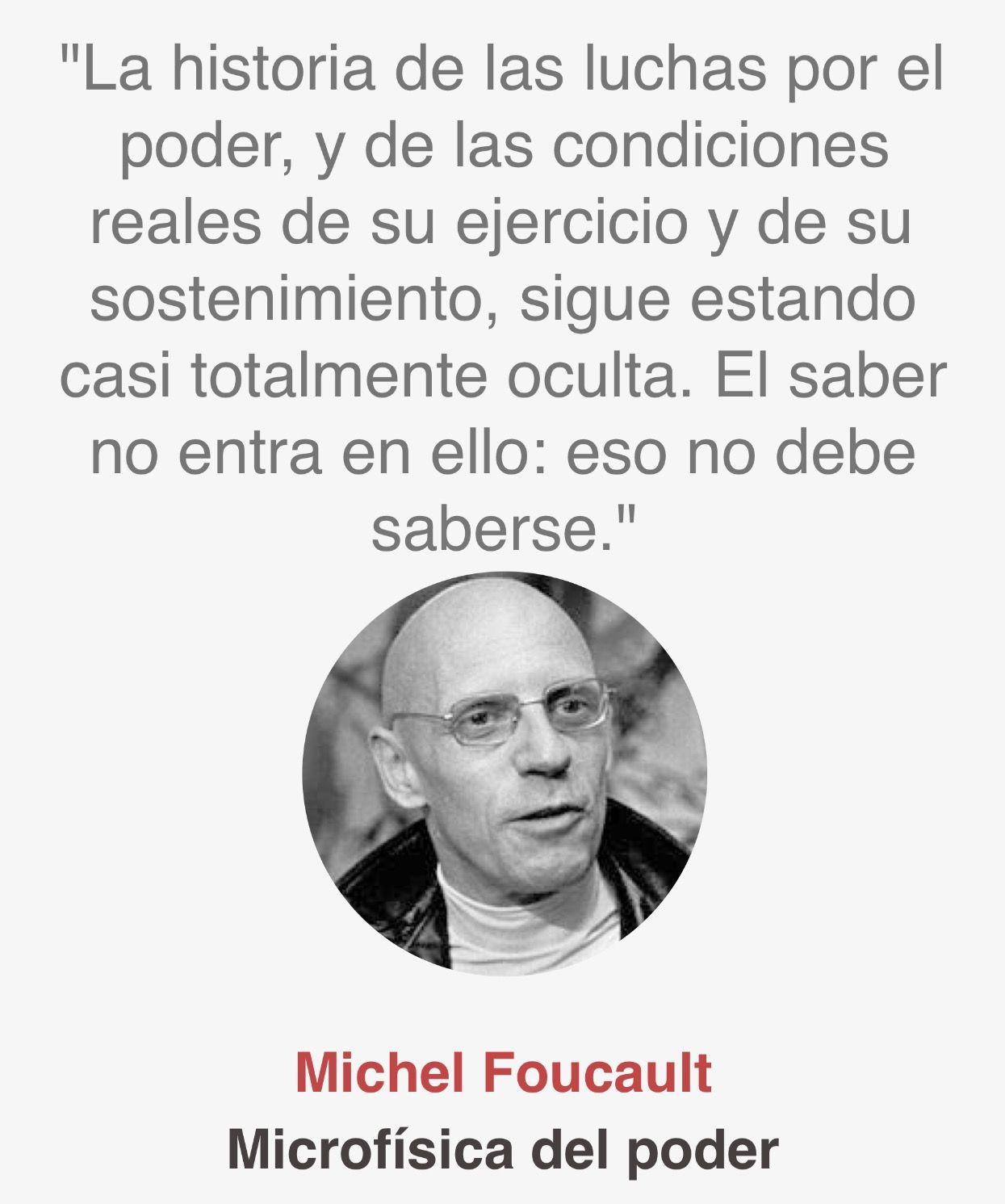 Michel Foucault Frases De Educacion Frases Literatura Y
