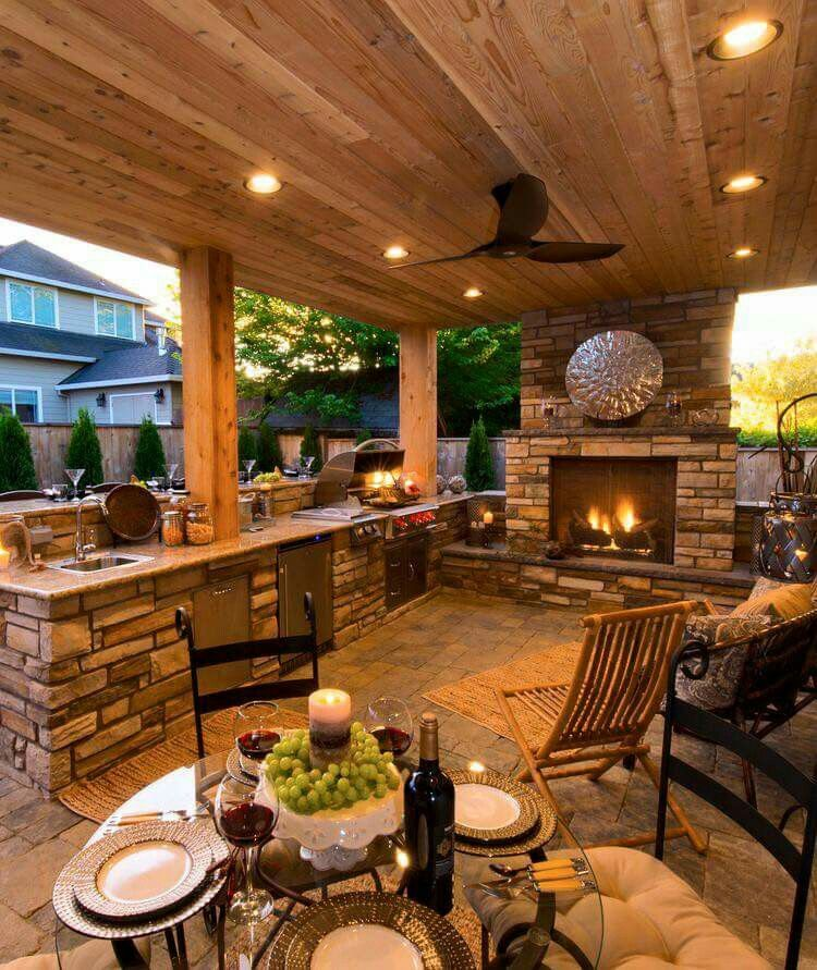100 Outdoor Kitchen Design Ideas Photos Features: Are You Looking For Inspiration About Barndominium? CLICK