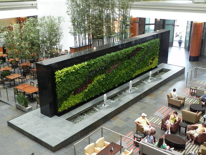 living green walls the wallpaper of the future is alive. Black Bedroom Furniture Sets. Home Design Ideas