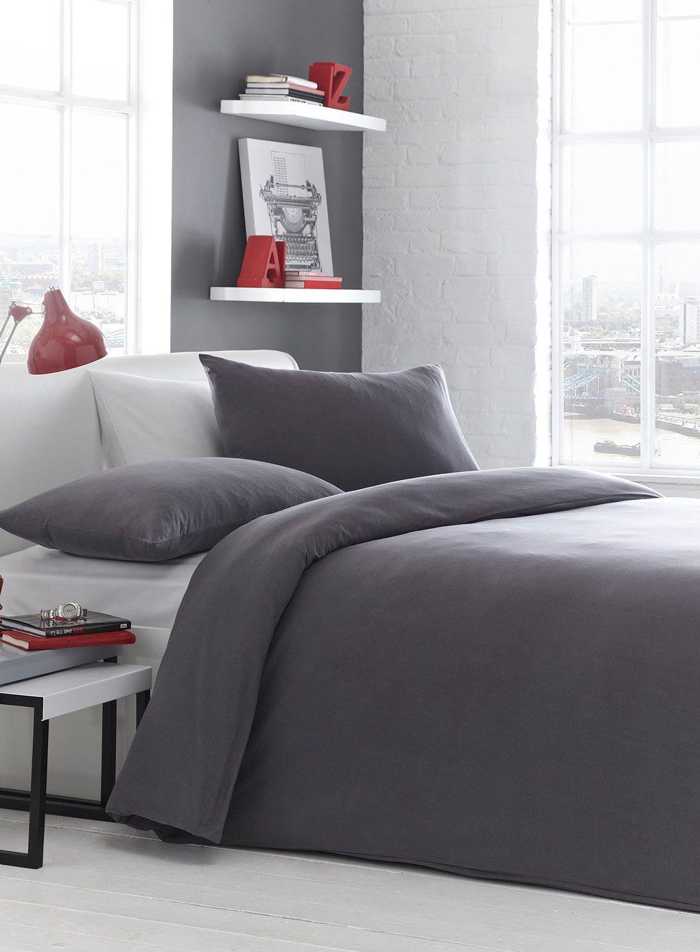 Plain Jersey Bedding - BHS