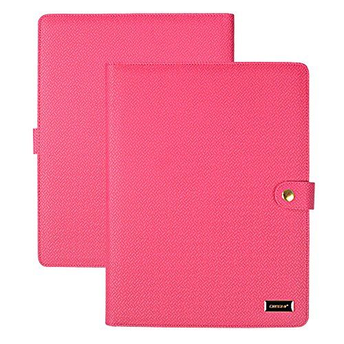CORNMI Padfolio Resume Portfolio Folder, PU Leather File
