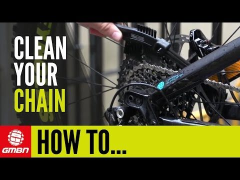How To Get A Perfectly Clean Chain Drivetrain Mountain Bike