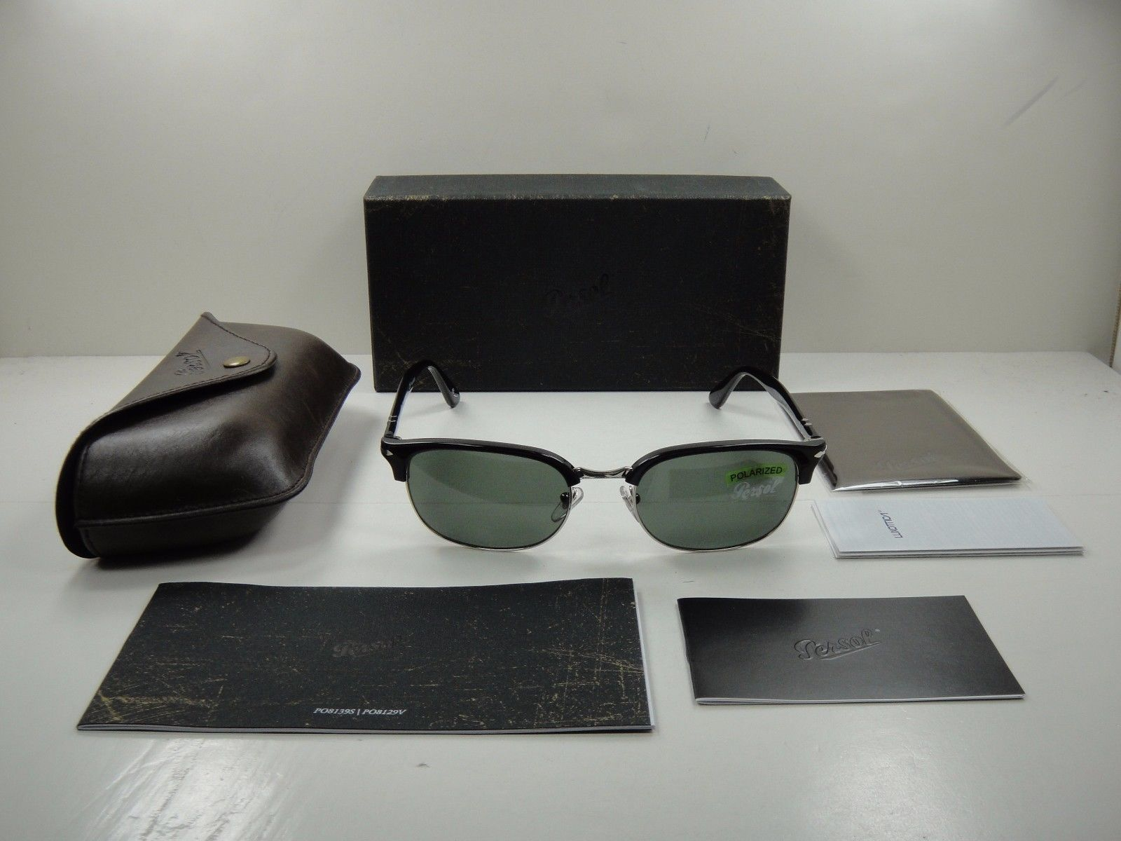 how to tell if persol sunglasses are polarized