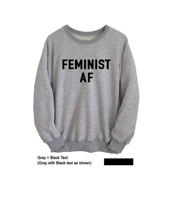 Womens Sweater Feminist