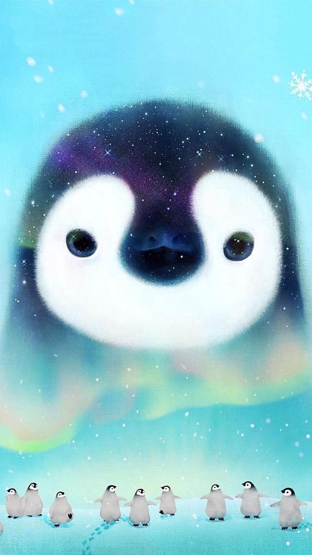 Pin by Tina Liroff on Cute wallpapers   Cute penguins ...