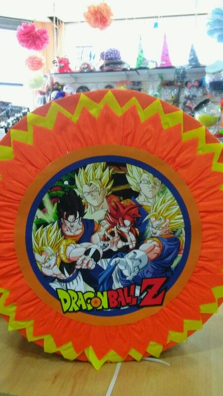 Pi ata de dragon ball z payser cotill n y reposter a for Dragon ball z decorations
