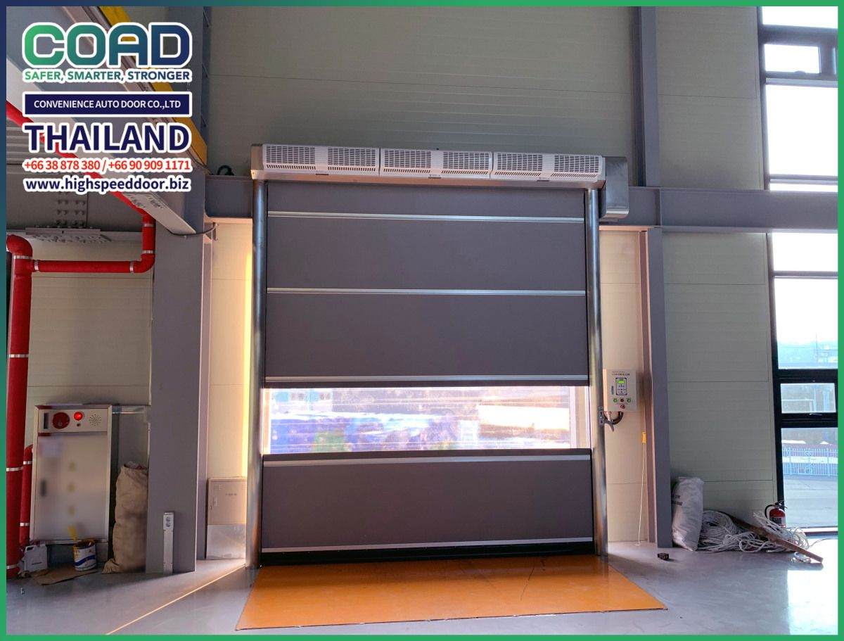 A Special Point Of Coad High Speed Door