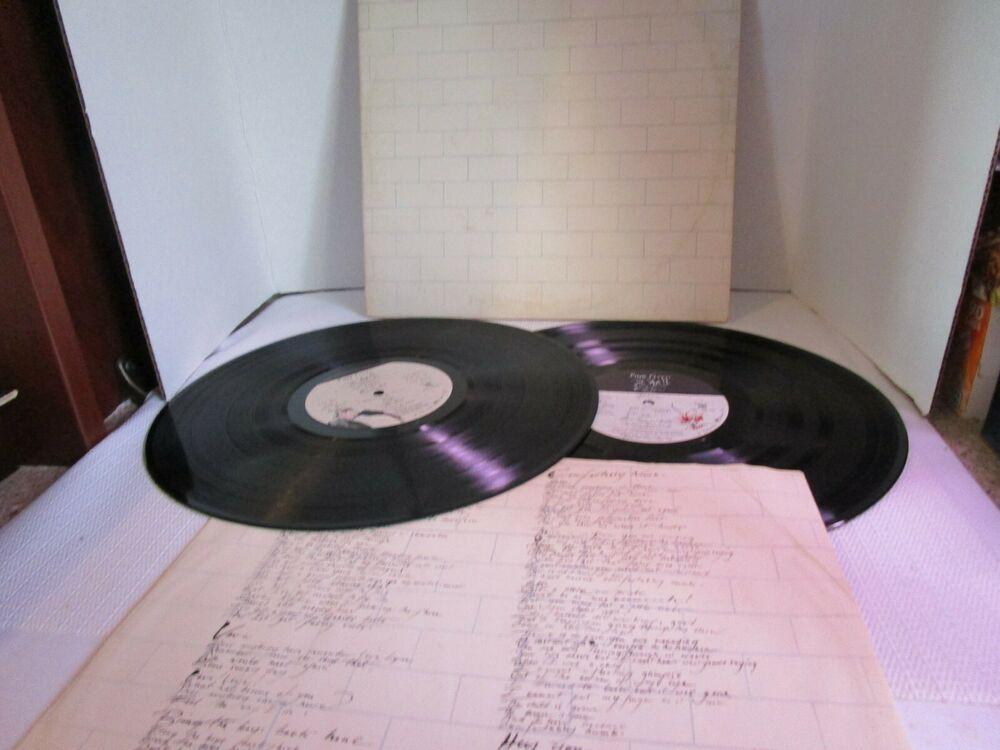 1979 Pink Floyd The Wall 2 Vinyl Lp Album Set Gatefold Columbia 36183 Lp Albums Vinyl Pink Floyd