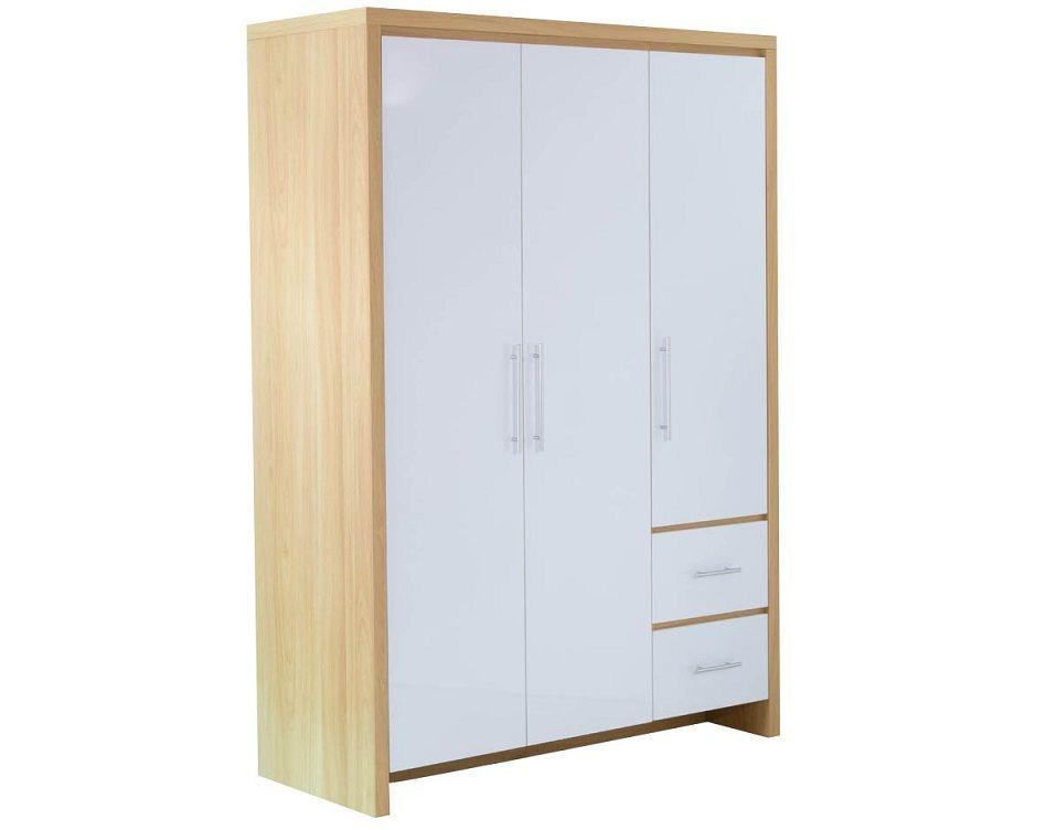 Wooden Three Door Free Standing Wardrobe Design Id559 Three Door