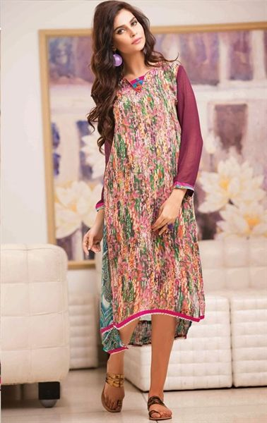 Picture of Gorgeous Multi Color Printed Kurti