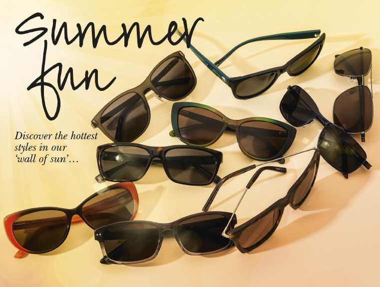 Summer fun with prescription sunglasses from Specsavers.