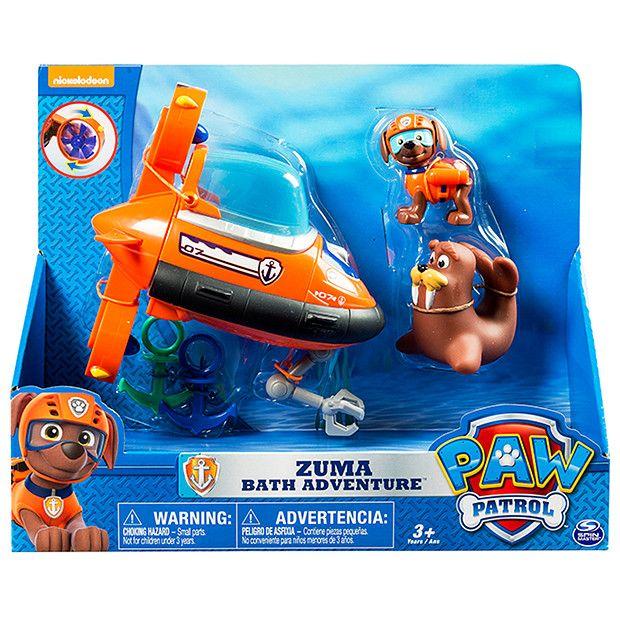 Paw Patrol Zuma Bath Adventure Paw Patrol Toys Zuma Paw Patrol