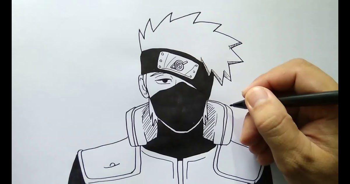 Gambar Anime Keren Dari Pensil Hari Ini Di Dunia Menggambar Kita Akan Membagikan Cara Menggambar Anime Kakashi Dari Anime Naruto Di 2020 Gambar Anime Lukisan Gambar