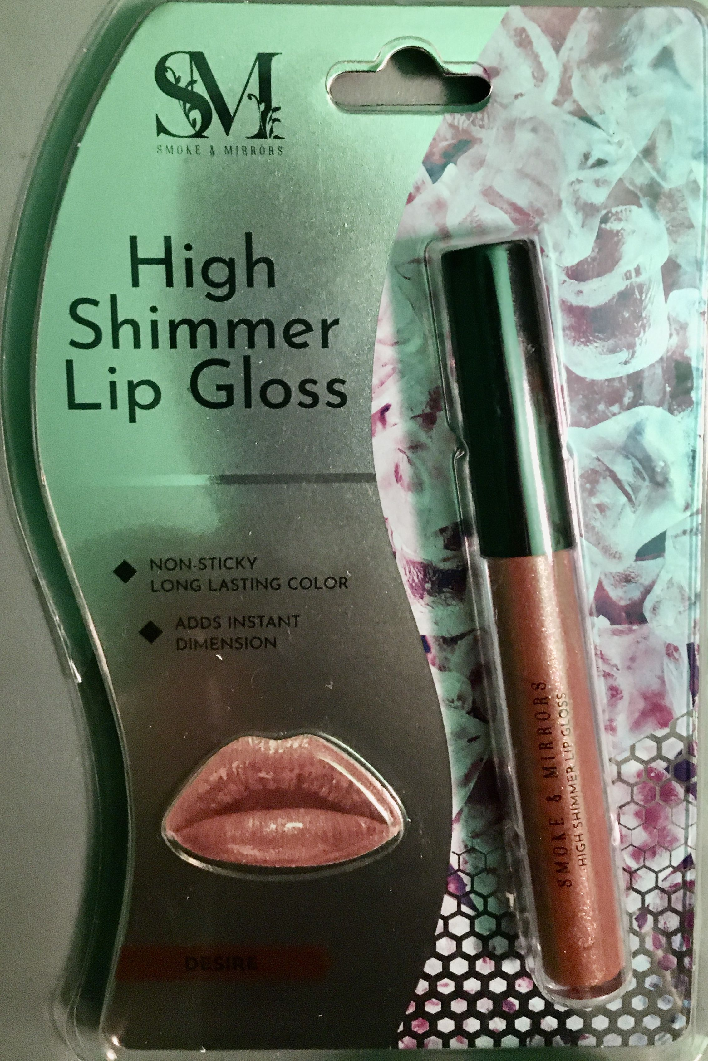 99 cent store Stockton March Lane Shimmer lip gloss, Lip
