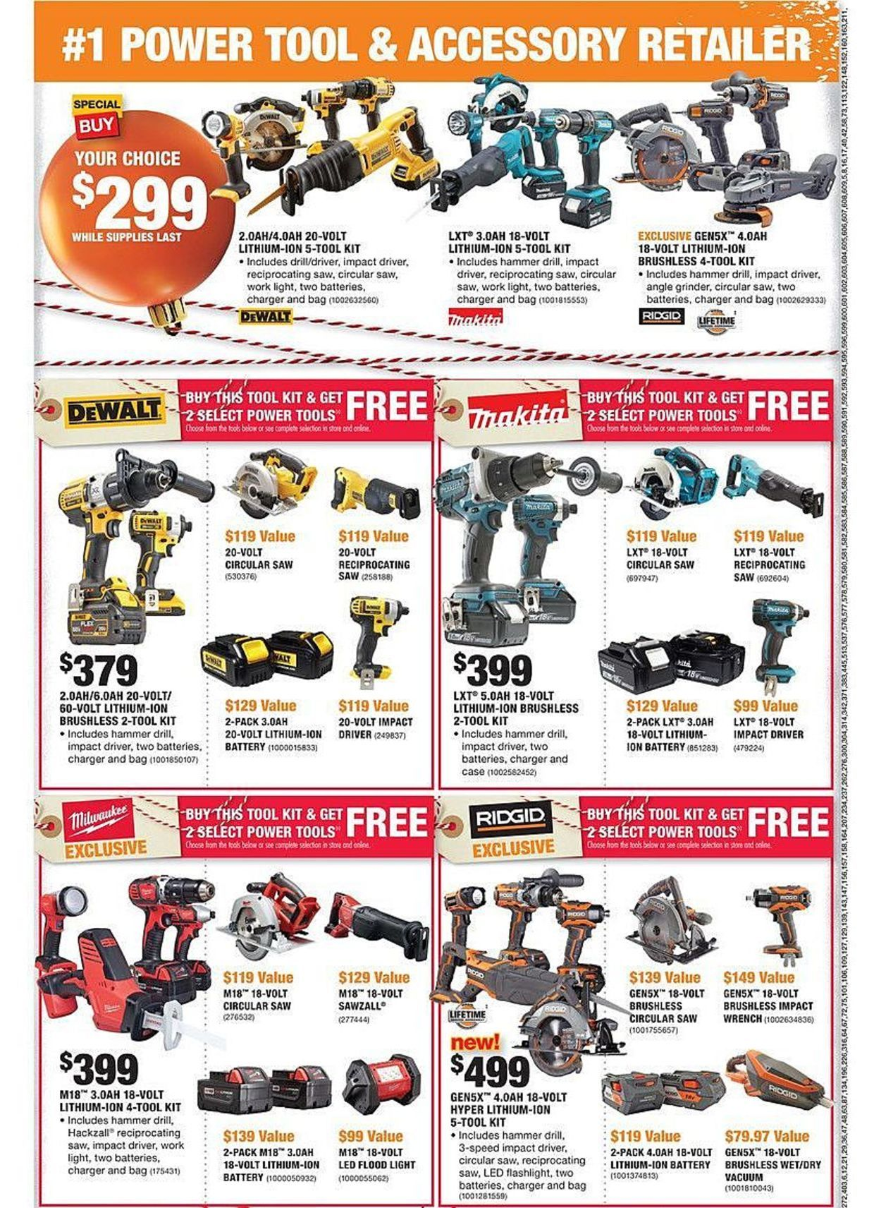 Home Depot Black Friday 2018 Ads And Deals Browse The Home Depot Black Friday 2018 Ad Scan And The Complete Product By Product Sales Listing Homedepot Black