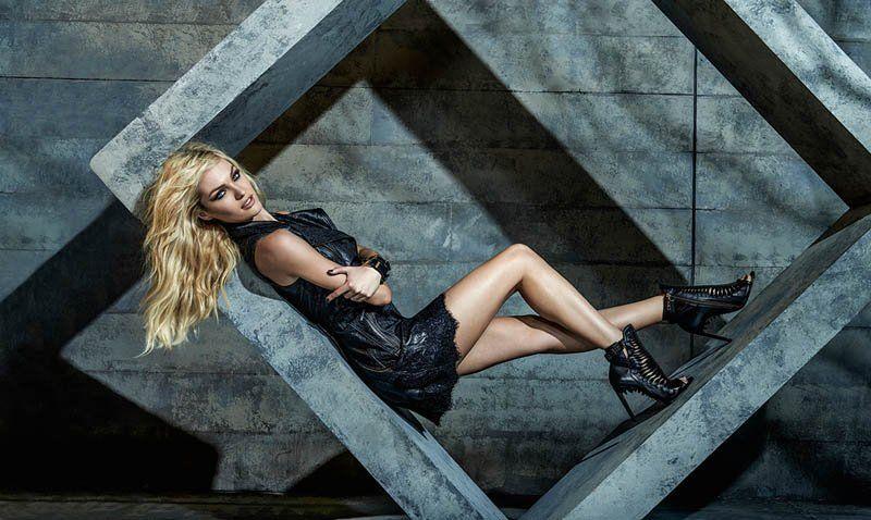 Candice Swanepoel for FORUM Denim Winter 2014 Campaign
