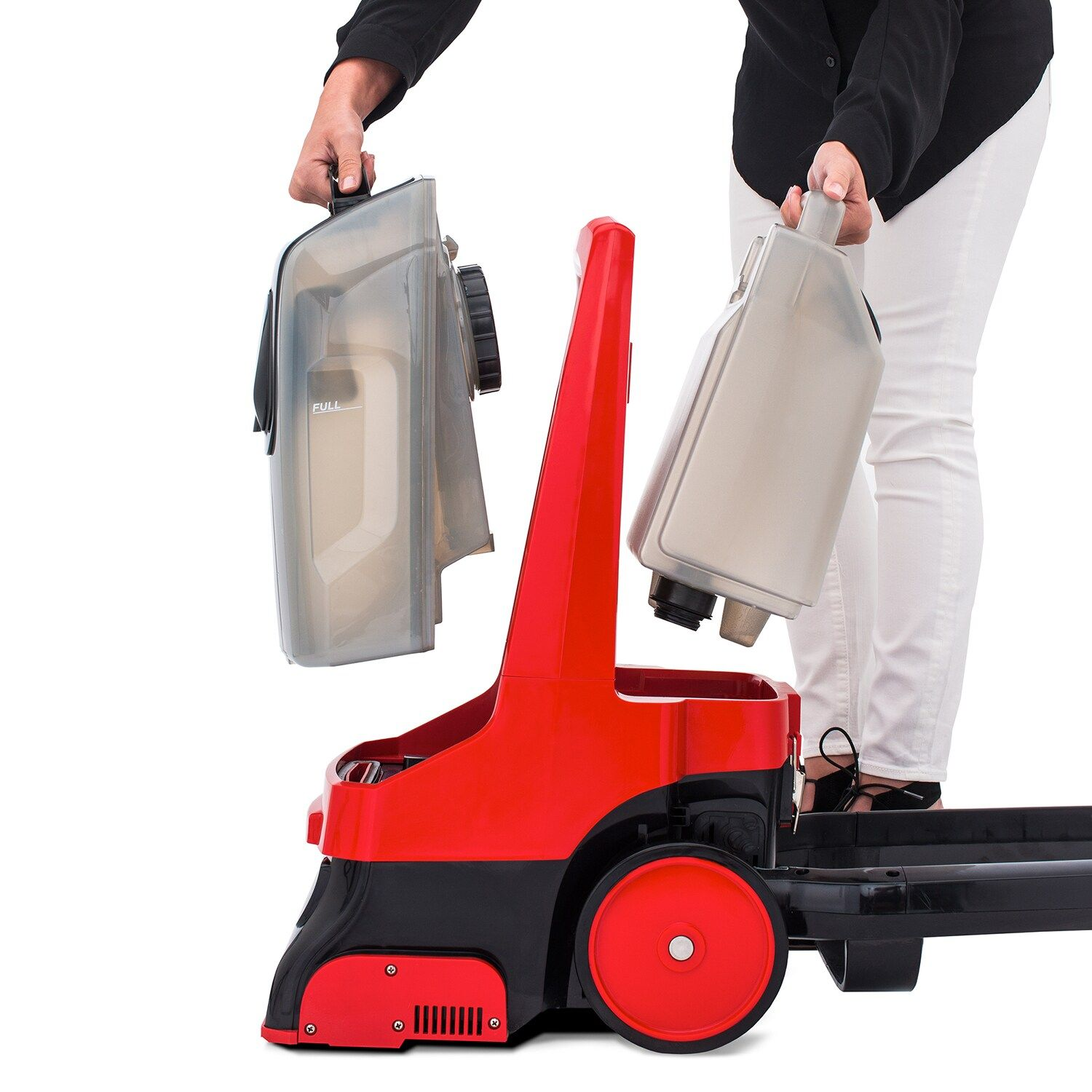 Rug Doctor Pro Deep Carpet Cleaner With Motorized Upholstery Tool