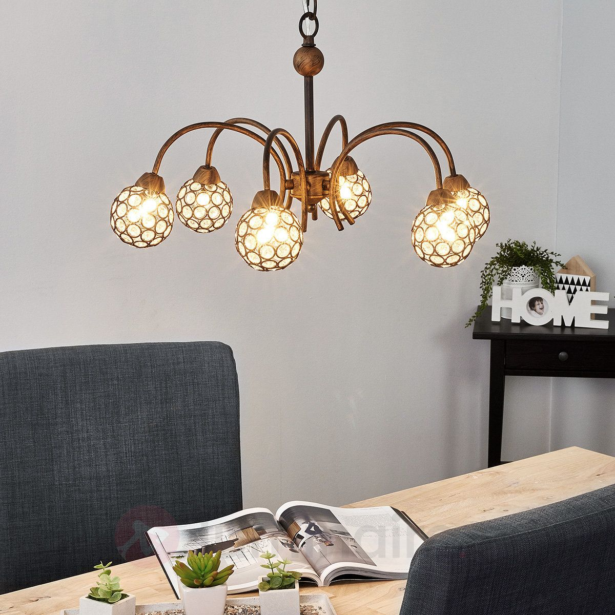 Suspension Style Campagne Chic Suspension Style Campagne Chic