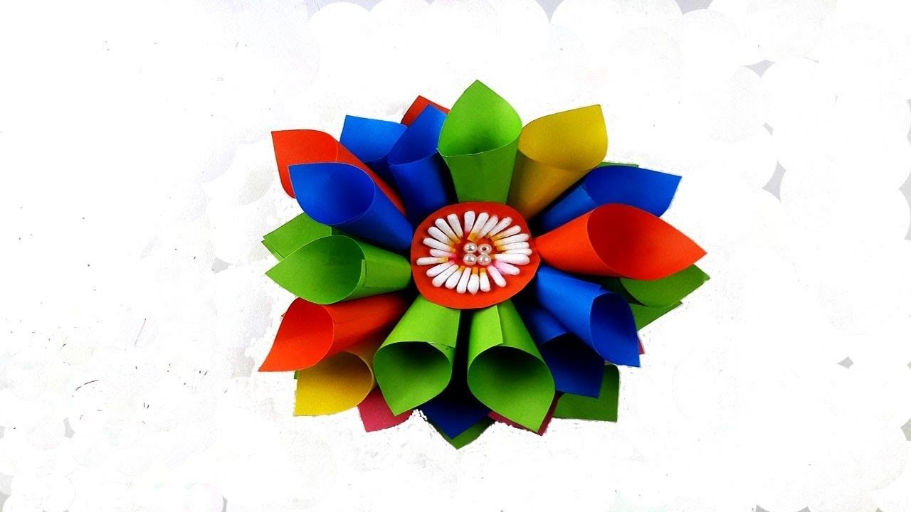 Easy Diy Home Decor Ideas Papercraft Pinterest Origami Flower
