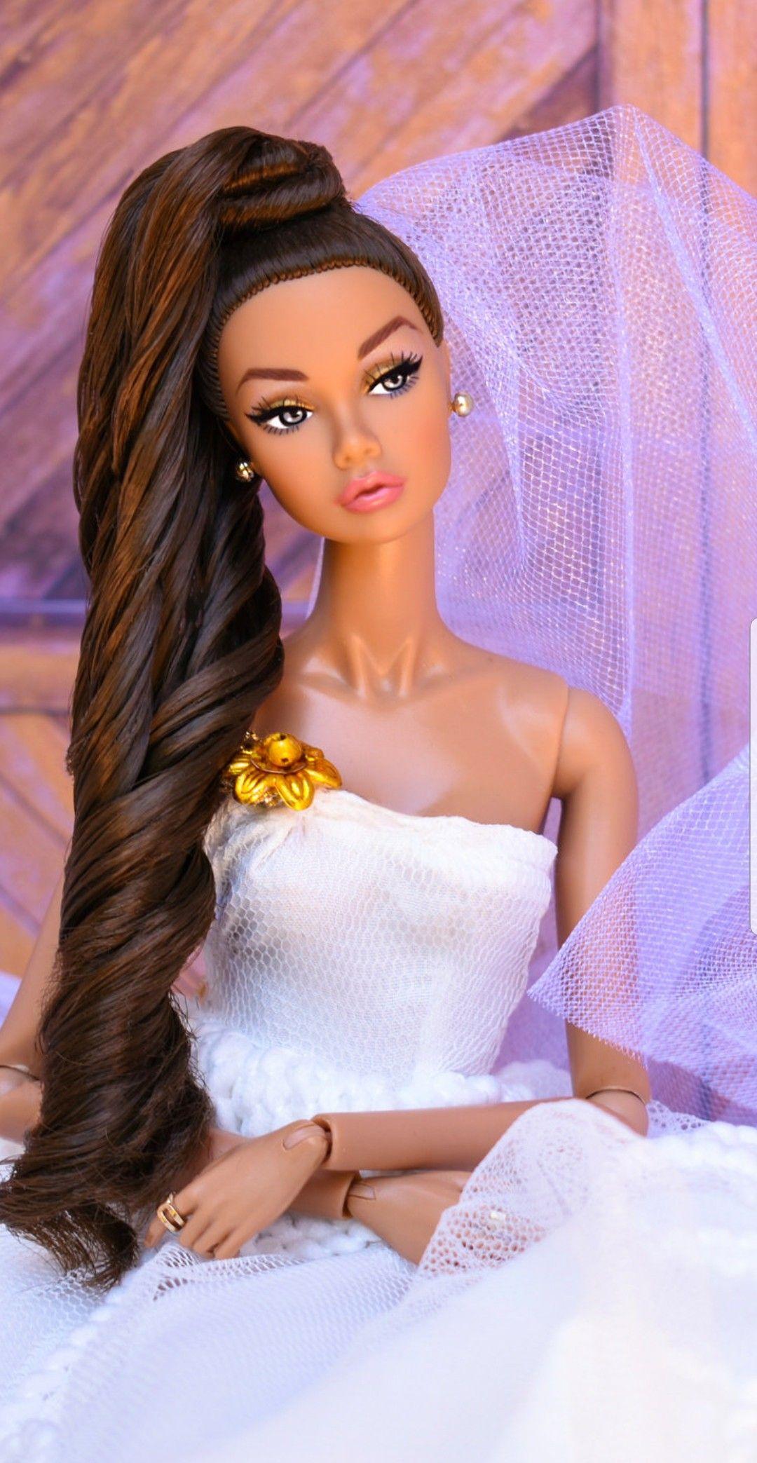 Vintage Michele Malpica Theresa Bride Wedding 27 Doll Artist Original Sign OOAK Künstler- & handgemachte Puppen Puppen & Zubehör