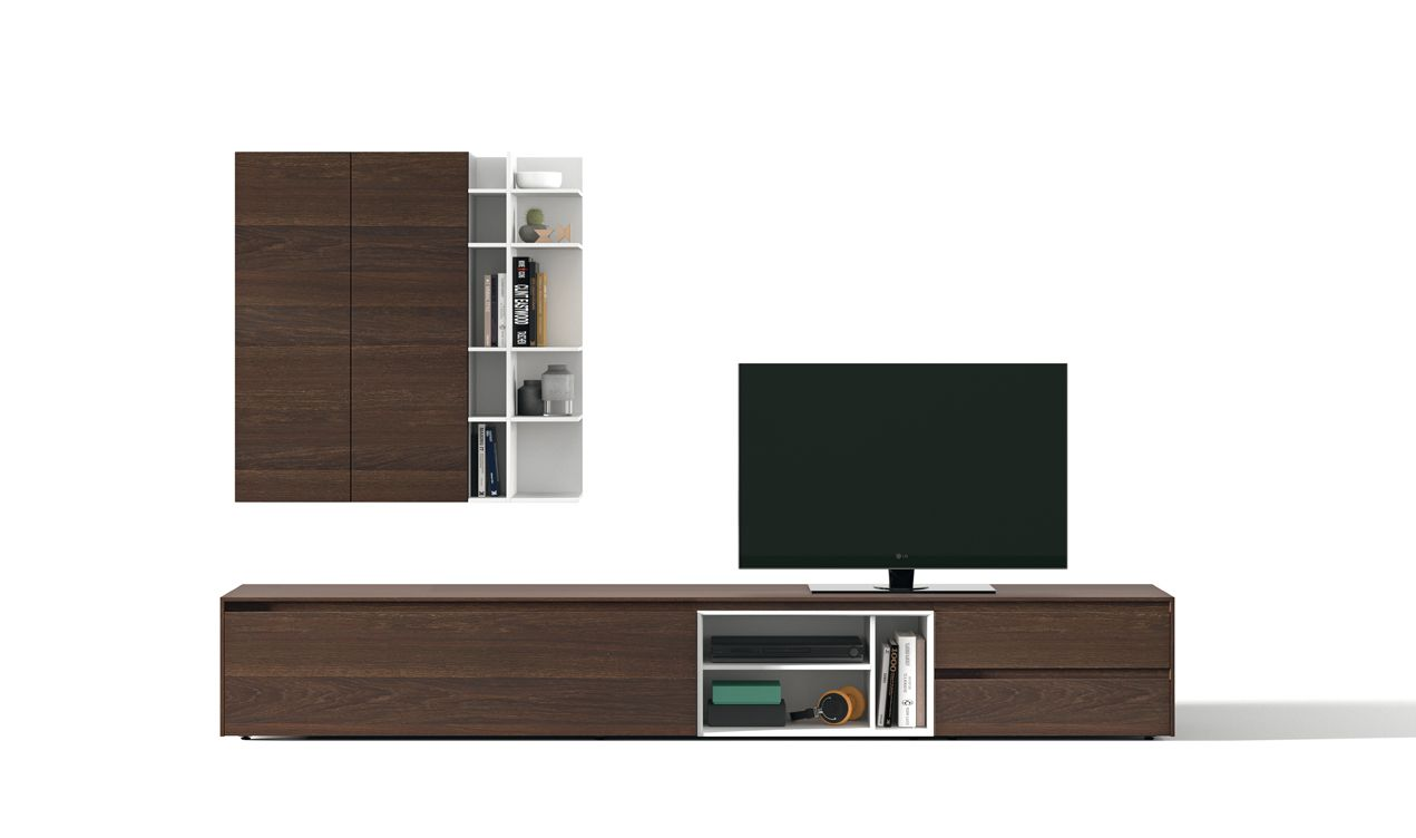 Soleil 40 Tv Composition Mobenia Home Soleil Living Area  # Bahut Meuble Tv
