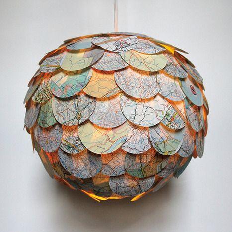 Diseño de interiores: Hermosas lamparas colgantes por Allison Patrick…