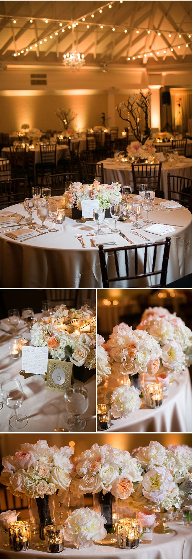 Reception At The Casino San Clemente With Elegant Details Wedding