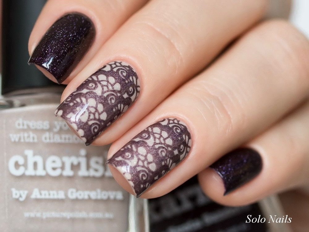 Picture Polish «Cherish» & «Karma» | Nail Art | Pinterest | Picture ...