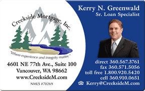 Laminated business card for mortgage broker in vancouver washington laminated business card for mortgage broker in vancouver washington reheart Images