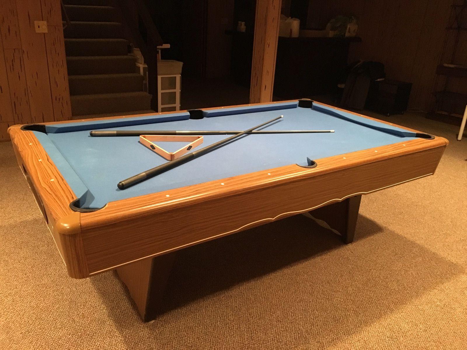 Minnesota Fats 7' Pool Table 7' Used Slate Pool Tables