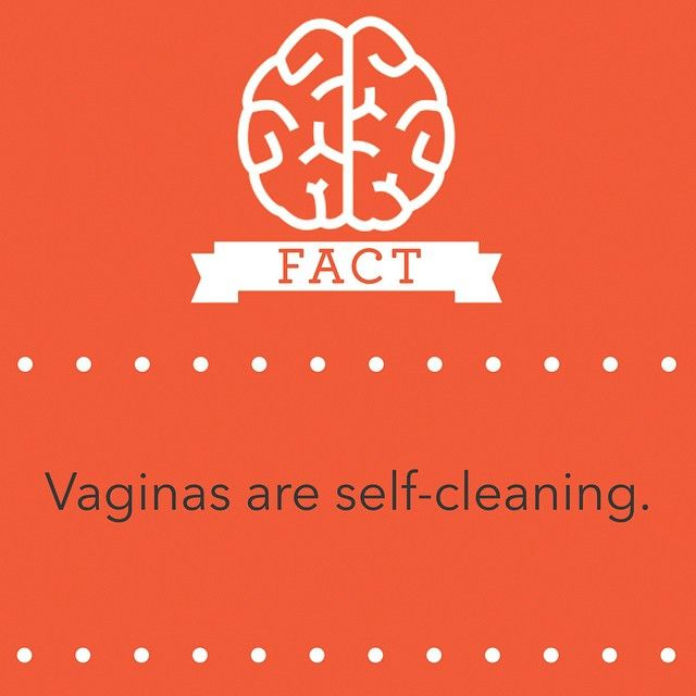 Reality check: Vaginas are like cats: no need for baths — they'll clean themselves. Douching is a no-go. It can actually lead to infections, and it doesn't prevent pregnancy or STDs. #fact #cats #douching #realitycheck