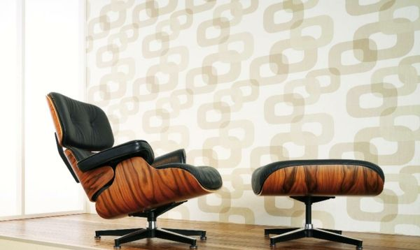 Retro Tapeten -   freshideen/dekoration/retro-tapeten-2 - retro tapete wohnzimmer