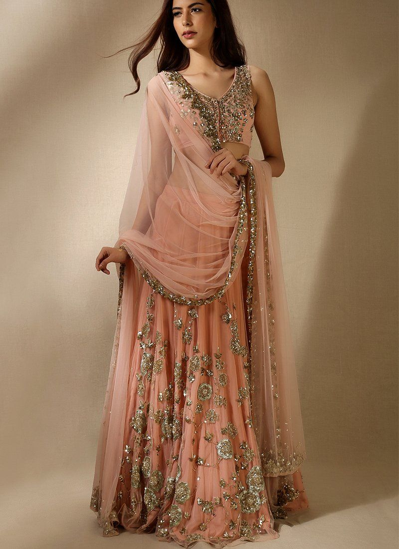 Price Is 225 00 Exclusive Heavy Designer Beautiful Peach Color