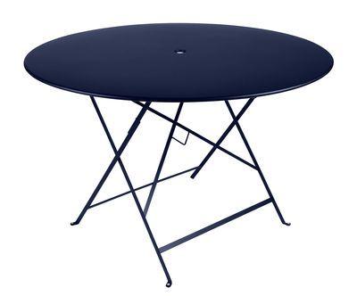Table pliante Bistro / Ø 117 cm - Trou parasol | Internet and Boutique
