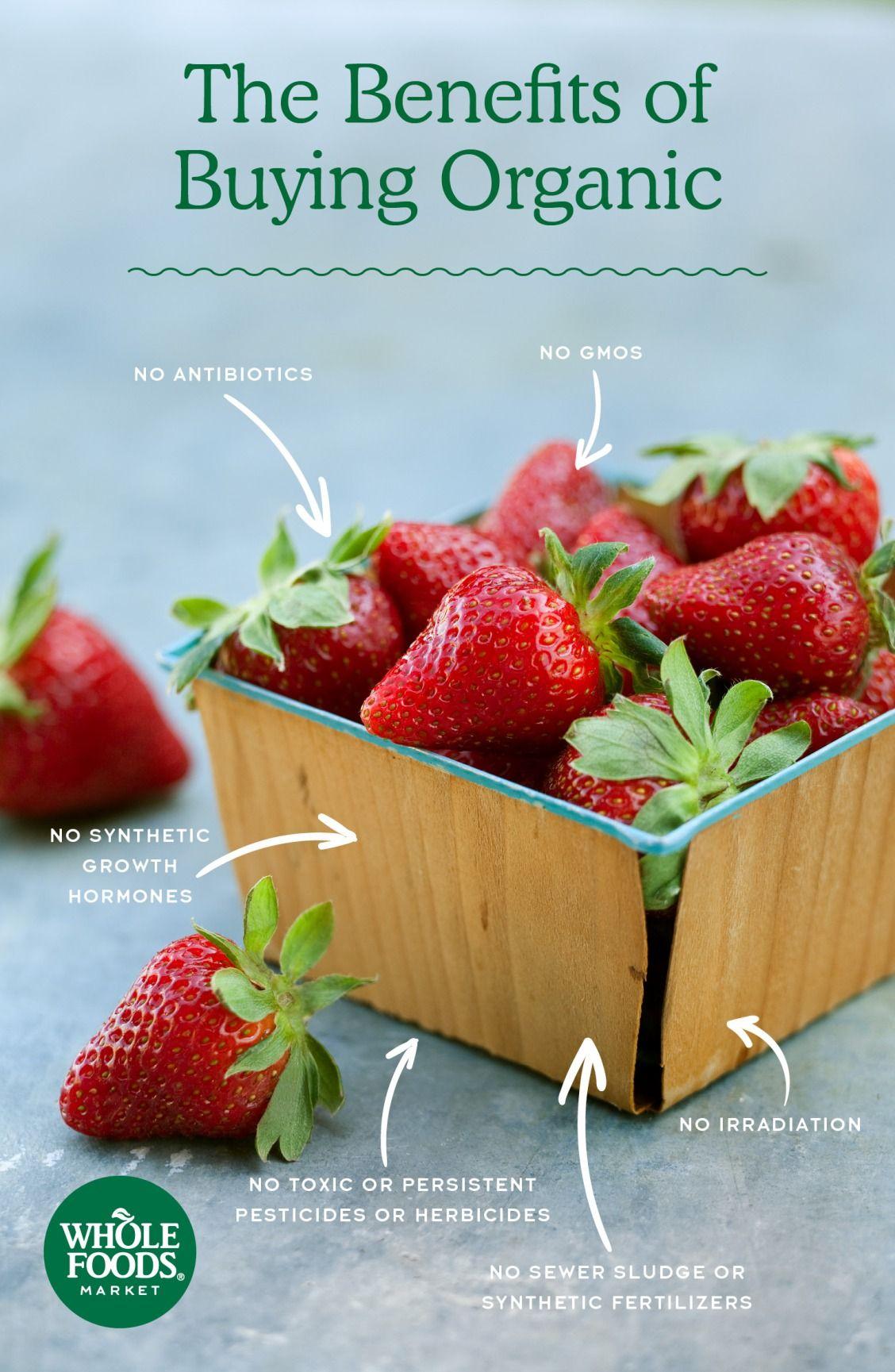 Organic Organic recipes, Benefits of organic food