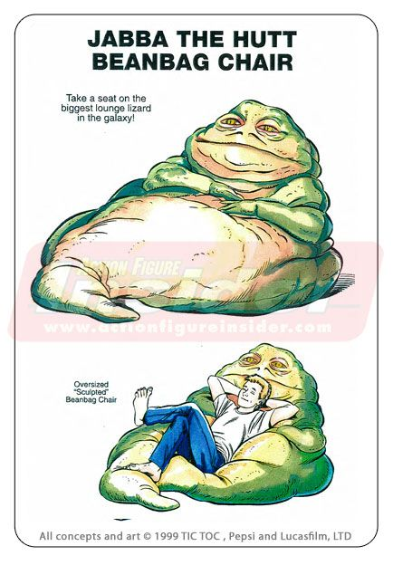 Back in 1998 - Rejected Star Wars Promotional Merchandise Concepts. I don't know why I'd buy this in a heart beat!