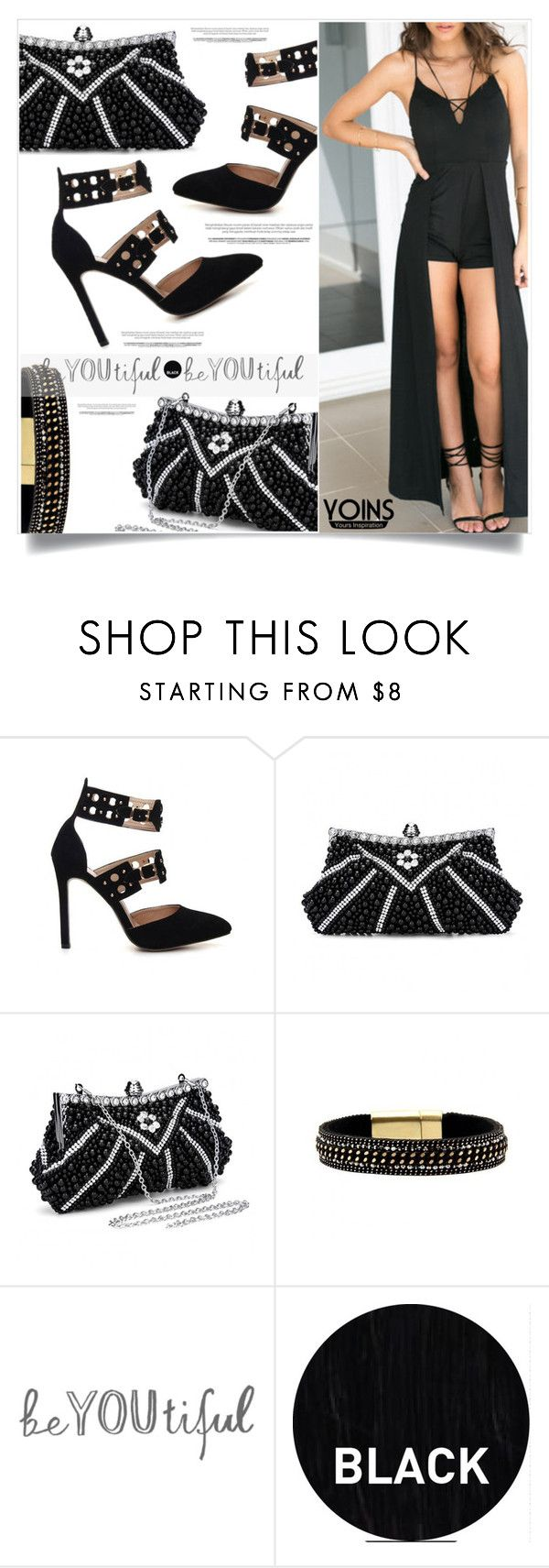 """""""Yoins 34"""" by captainsilly on Polyvore featuring Sleep In Rollers"""