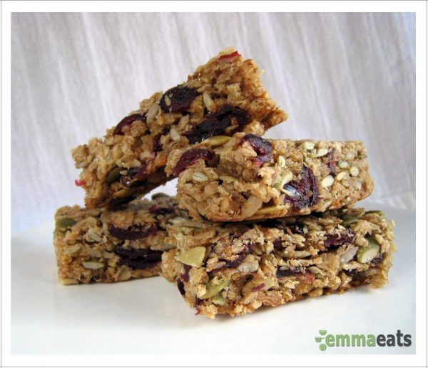 in between meals… — chewy cranberry chocolate chip granola