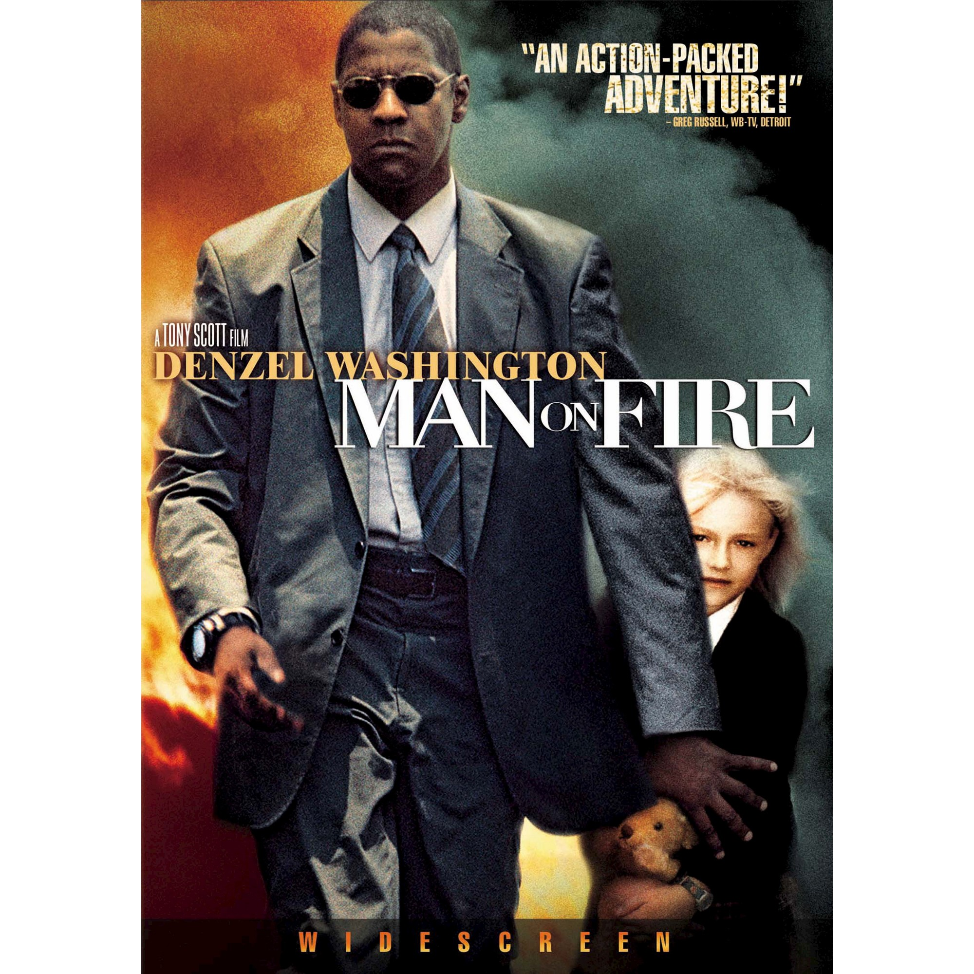 Man On Fire Dvd In 2021 Man On Fire Fire Movie Good Movies