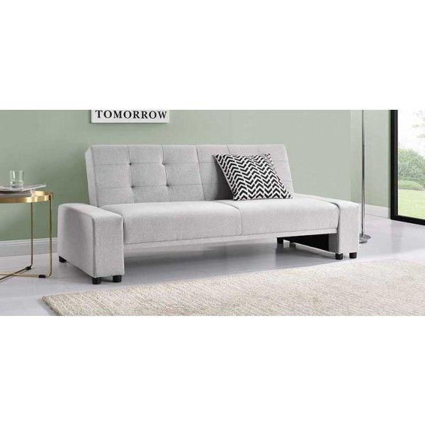 Chicago Modern Grey Fabric Sofa Bed