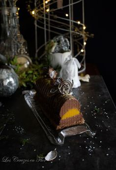 Los cerezos en flor: Bûche de Noël y las Cooking Challengel